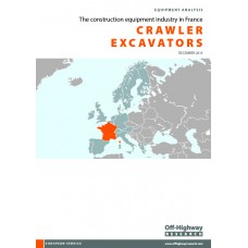 European Equipment Analysis: Crawler Excavators - France