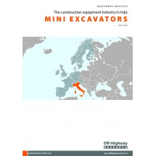 European Equipment Analysis: Mini Excavators - Italy