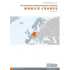 European Equipment Analysis: Mobile Cranes - Germany