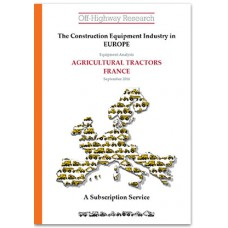 European Equipment Analysis: Agricultural Tractors - France