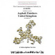 European Equipment Analysis: Asphalt Finishers - UK