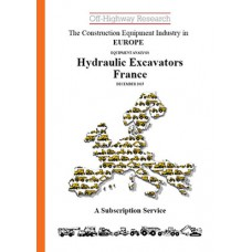 European Equipment Analysis: Hydraulic Excavators - France
