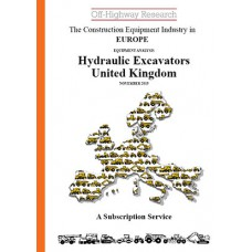 European Equipment Analysis: Hydraulic Excavators - UK