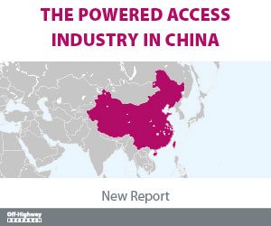 THE POWERED ACCESS INDUSTRY CHINA