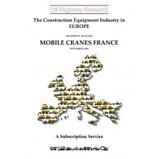European Equipment Analysis: Mobile Cranes - France