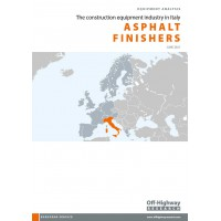 European Equipment Analysis: Asphalt Finishers - Italy
