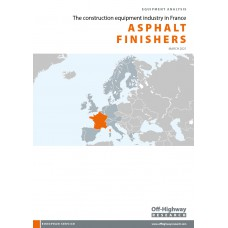 European Equipment Analysis: Asphalt Finishers - France