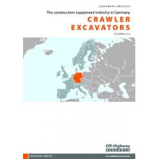 European Equipment Analysis: Crawler Excavators - Germany