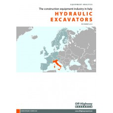 European Equipment Analysis: Hydraulic Excavators - Italy