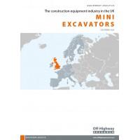 European Equipment Analysis: Mini Excavators - UK