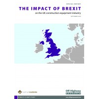 A Special Report: The Impact of Brexit on the UK construction equipment industry
