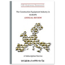 European Construction Equipment Markets: A Review of 2018 and a Forecast to 2023