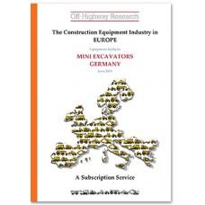 European Equipment Analysis: Mini Excavators - Germany