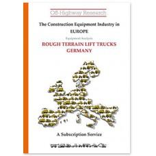 European Equipment Analysis: Rough Terrain Lift Trucks - Germany