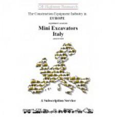 European Equipment Analysis: Mini Excavators - Italy