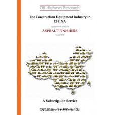 Chinese Equipment Analysis: Asphalt Finishers