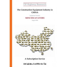 Chinese Equipment Analysis: Mini Excavators