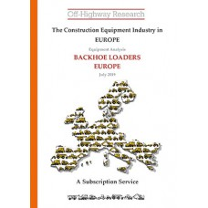 European Equipment Analysis: Backhoe Loaders - Europe