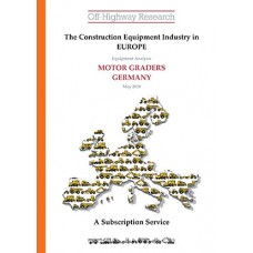 European Equipment Analysis: Motor Graders - Germany