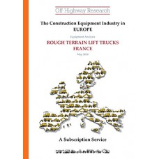 European Equipment Analysis: Rough Terrain Lift Trucks - France